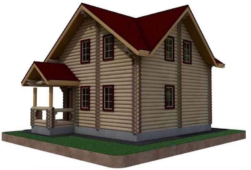 Дом-Баня ОБ-023